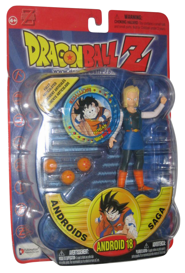 Dragon Ball Z Androids Saga Irwin Toys Android 18 Action