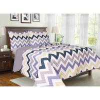 Chevron Soft and Cozy Microfiber Bedding Quilt Set ...