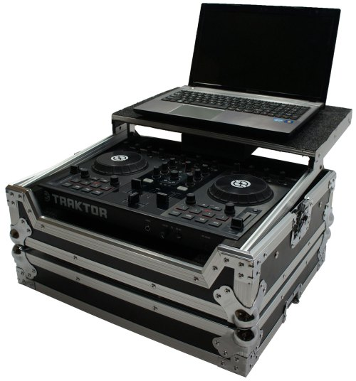 small resolution of harmony hctks2lt flight ready glide laptop stand dj case traktor kontrol s2 mk2 walmart com