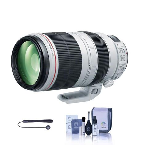 Canon EF 100-400mm f/4.5-5.6L IS II USM (Image Stabilized) Zoom Lens - U.S.A. - With Cleaning Kit, Capleash II