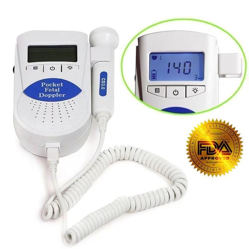 Fetal Heart MonitorSonoline B Fetal doppler /Backlight ...