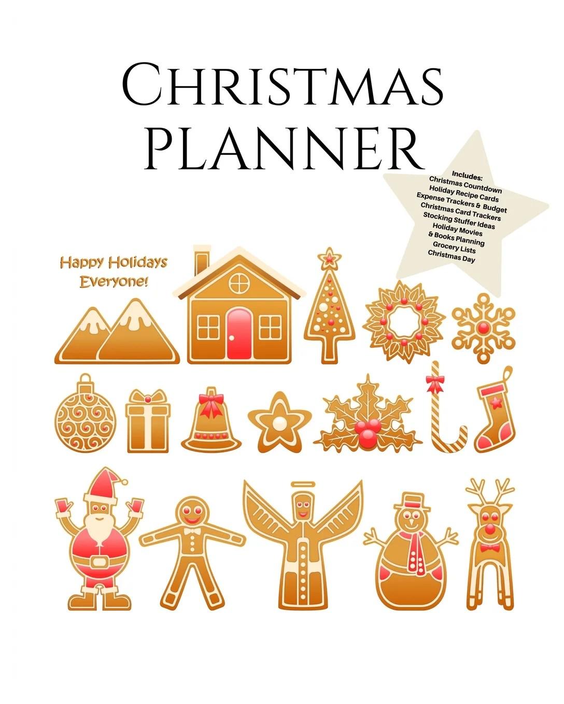 Christmas Planner Ultimate Christmas Planner Festive