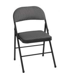 Folding Chair Fabric Hammock Stand C Frame Mainstays Black Walmart Com