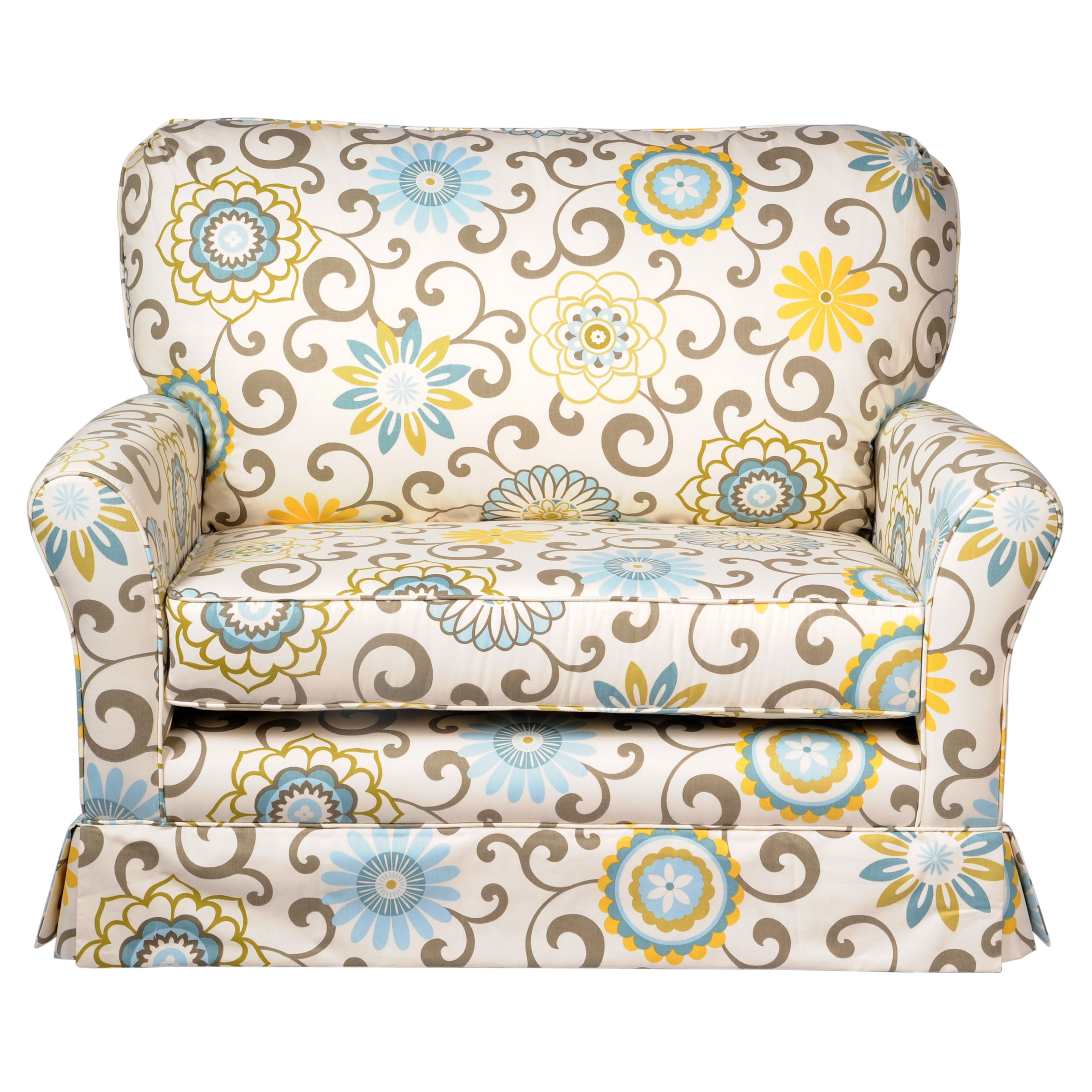 little castle chair and half glider slipcovers for queen anne chairs cottage a swivel walmart com