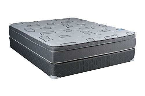 dreamy rest pillow top euro top plush king size mattress and box spring set