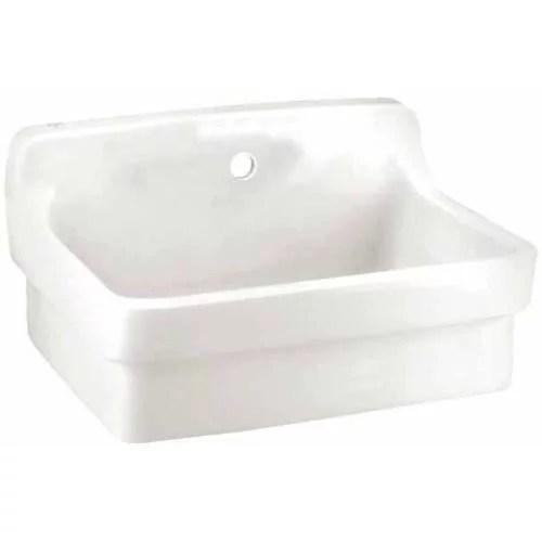 All Purpose Wall Mounted Sink American Standard