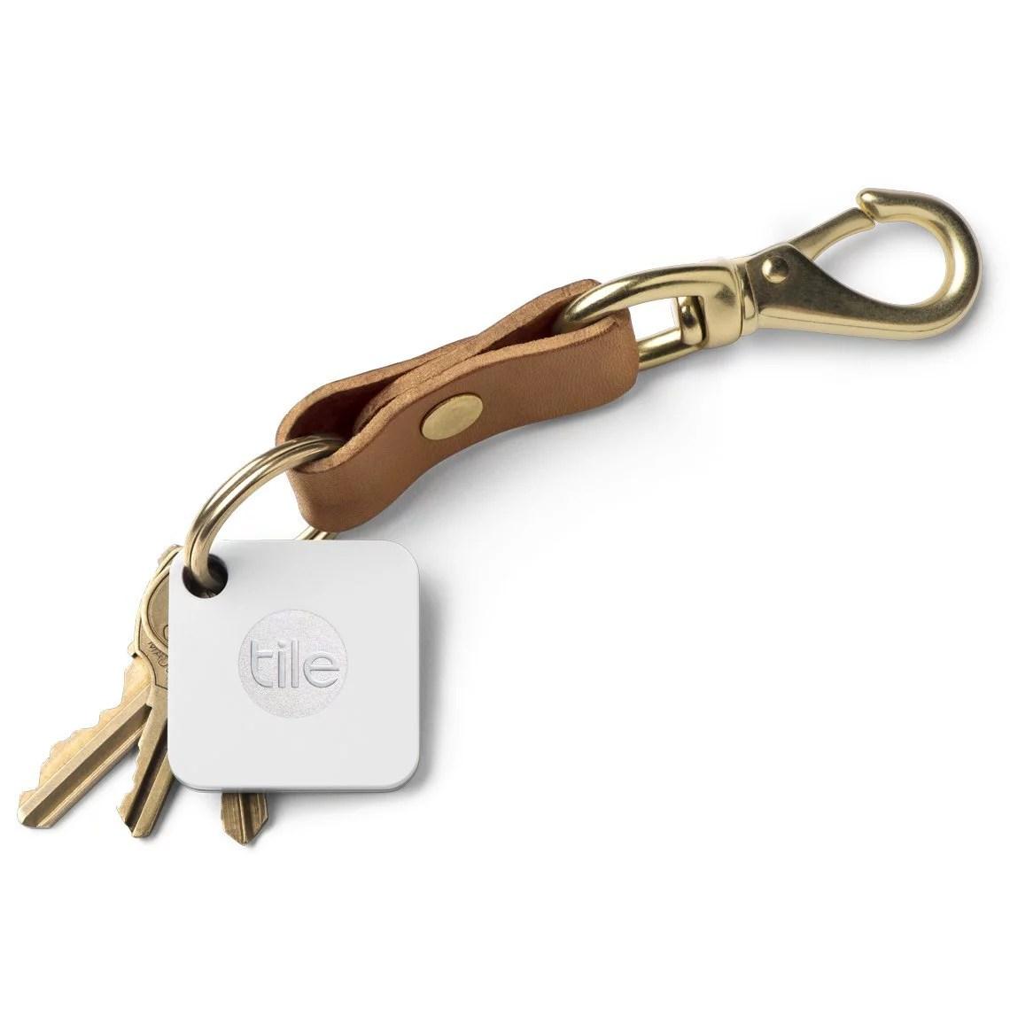 tile mate key phone finder bluetooth tracker water resistant 150 ft 1 pack refurbished