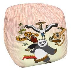 Panda Bean Bag Chair Room Chairs Designs Kung Fu Group White 33x33x31 Walmart Com