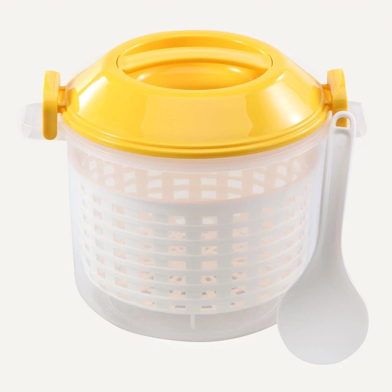 ekco pao 11 cup microwave rice steamer bowl set walmart com