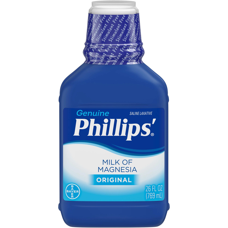 Phillips' Milk Of Magnesia Liquid Laxative Original 26 ...