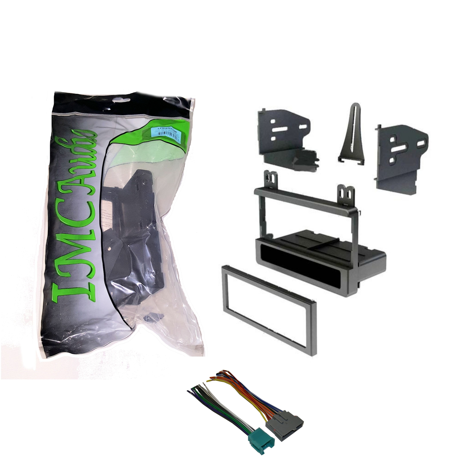 hight resolution of 1995 1997 ford ranger dash kit single din wire harness for stereo replacement install walmart com