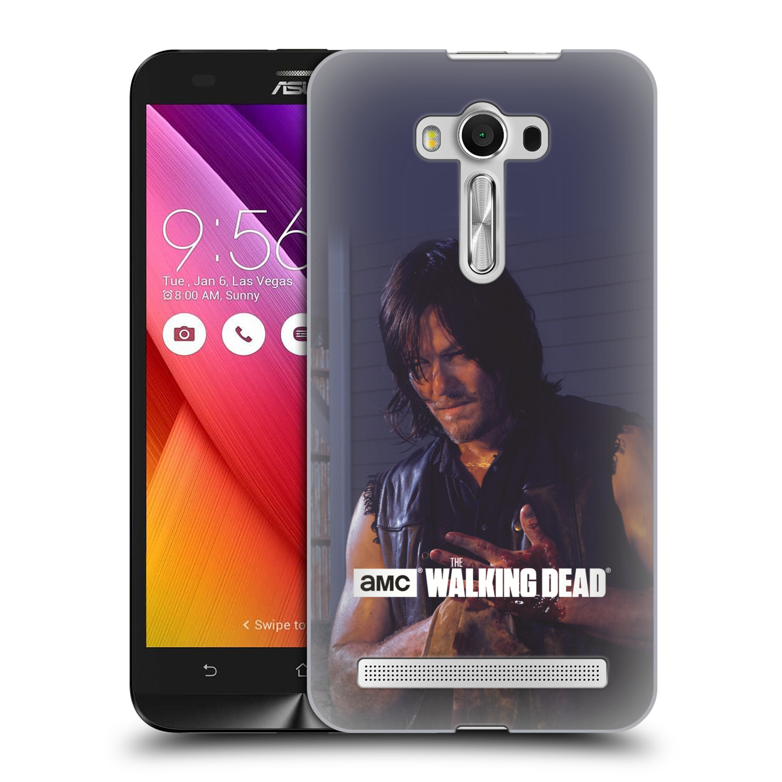 hight resolution of official amc the walking dead filter character hard back case for asus zenfone phones