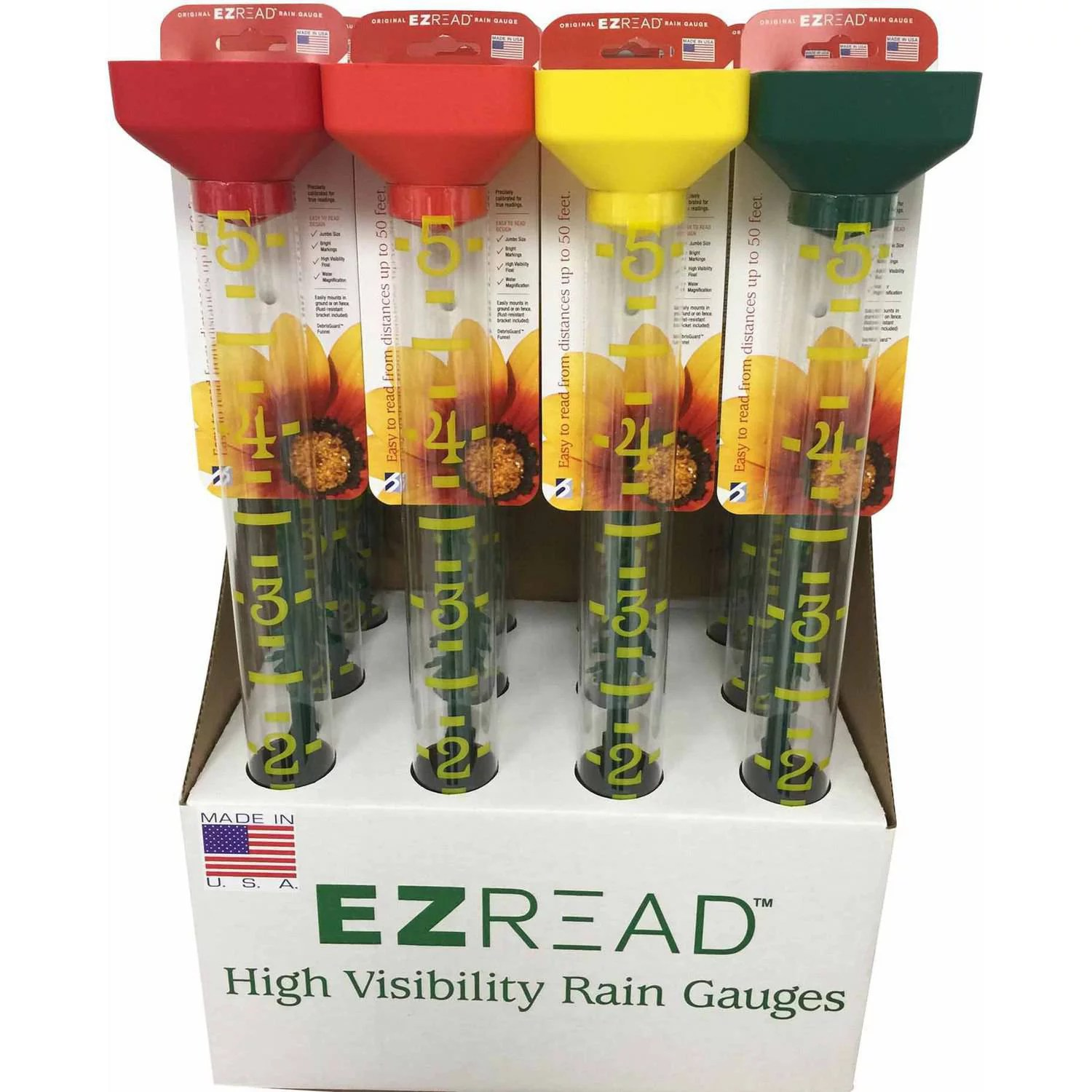 Ez Read Rain Gauge