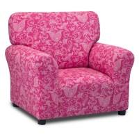 Kidz World Small Paisley Candy Pink Club Chair - Walmart.com