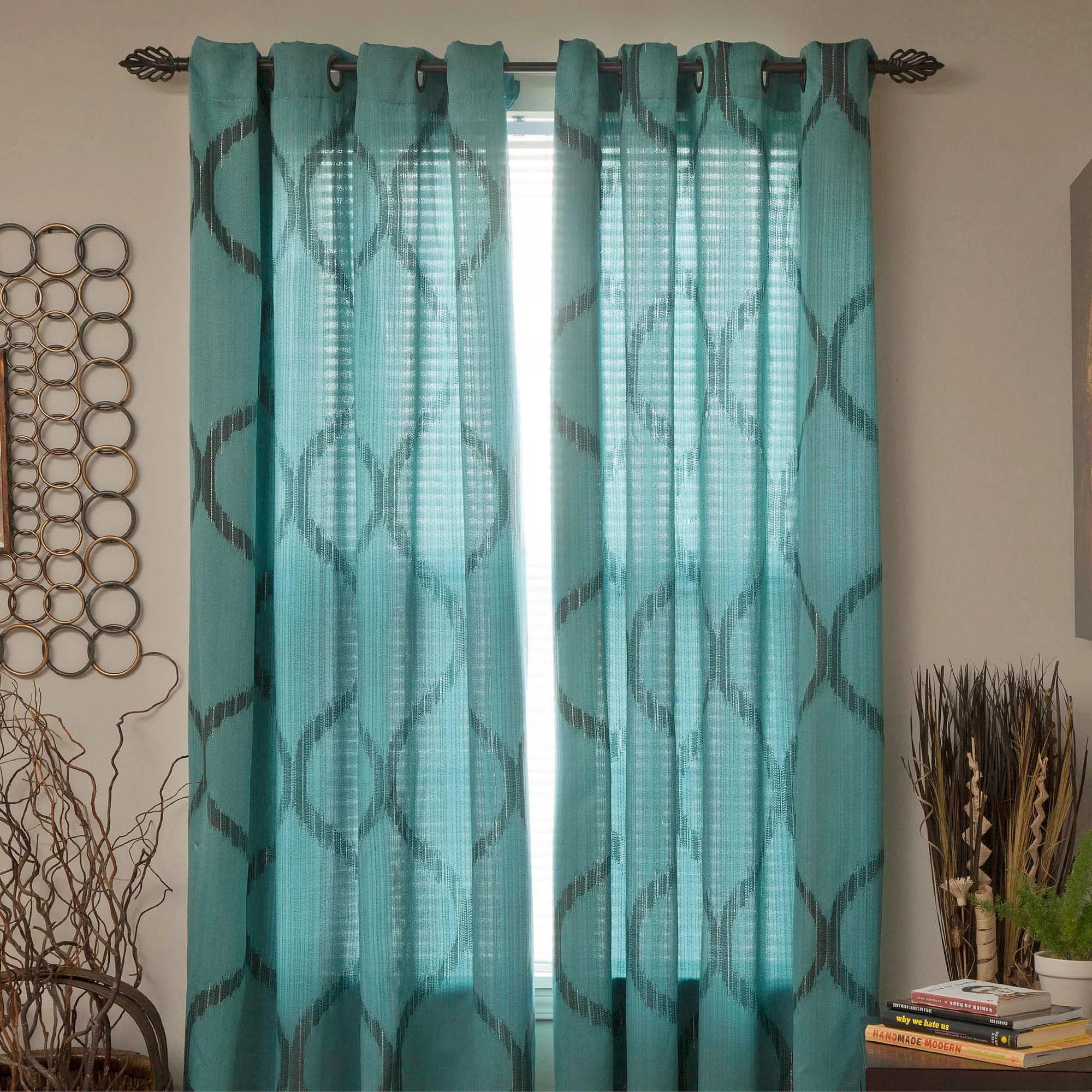Better Homes And Gardens Marissa Curtain Panel Walmart Com