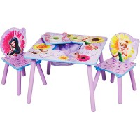 Disney Fairies Storage Table & Chair Set - Walmart.com