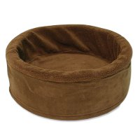 "17"" Cuddle Cup Dog Bed with Sheepskin"