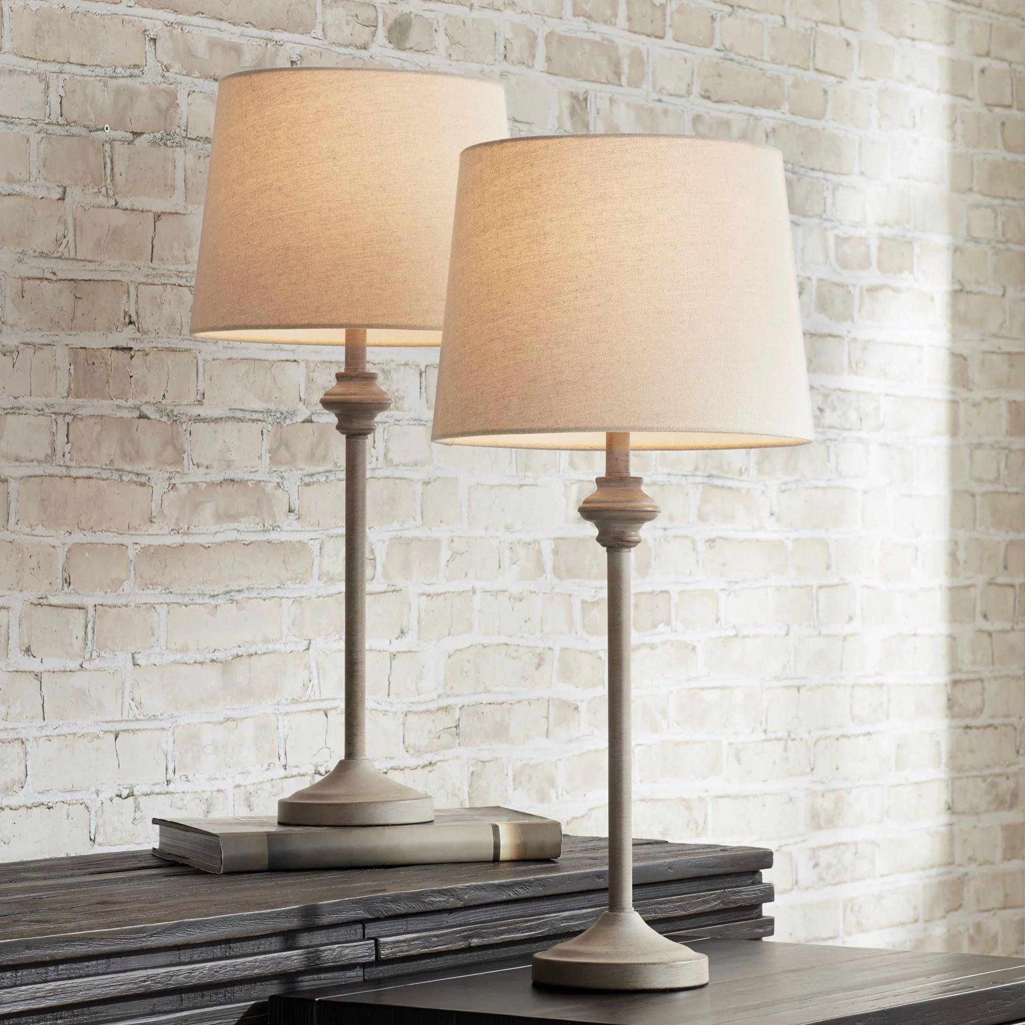 farmhouse table lamps walmart com