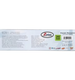 power acoustik 2 ohm 2 500 watt max subwoofer amplifier 5 pc box walmart com [ 2400 x 2400 Pixel ]