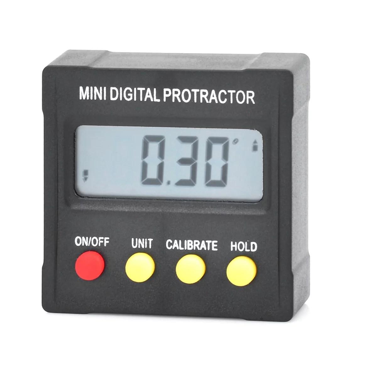 Husky Digital Protractor Manual