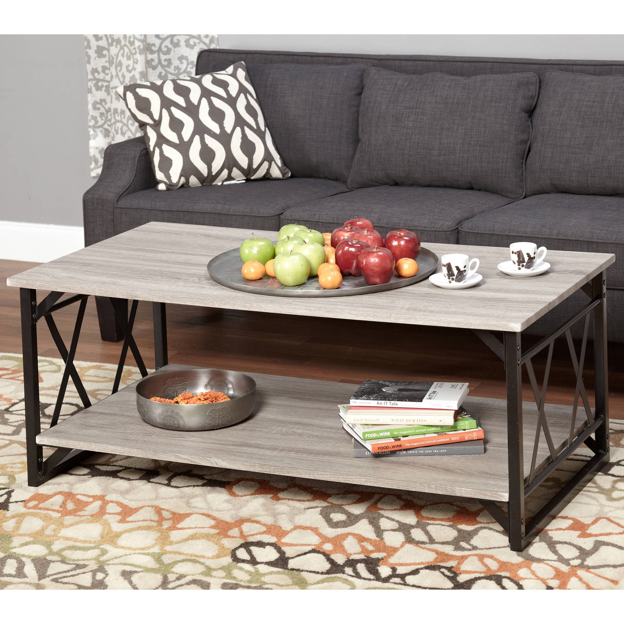 walmart living room tables mid century ideas lenyxx collection coffee table multiple colors com
