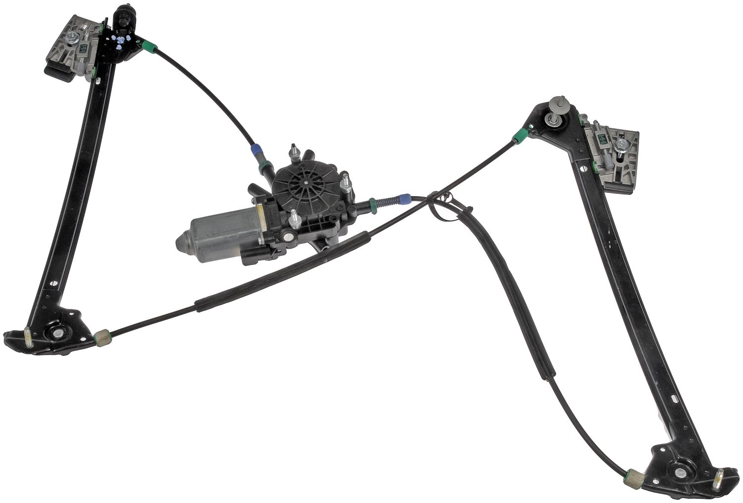 Power Window Regulator And Motor Assembly 748-472 Fits