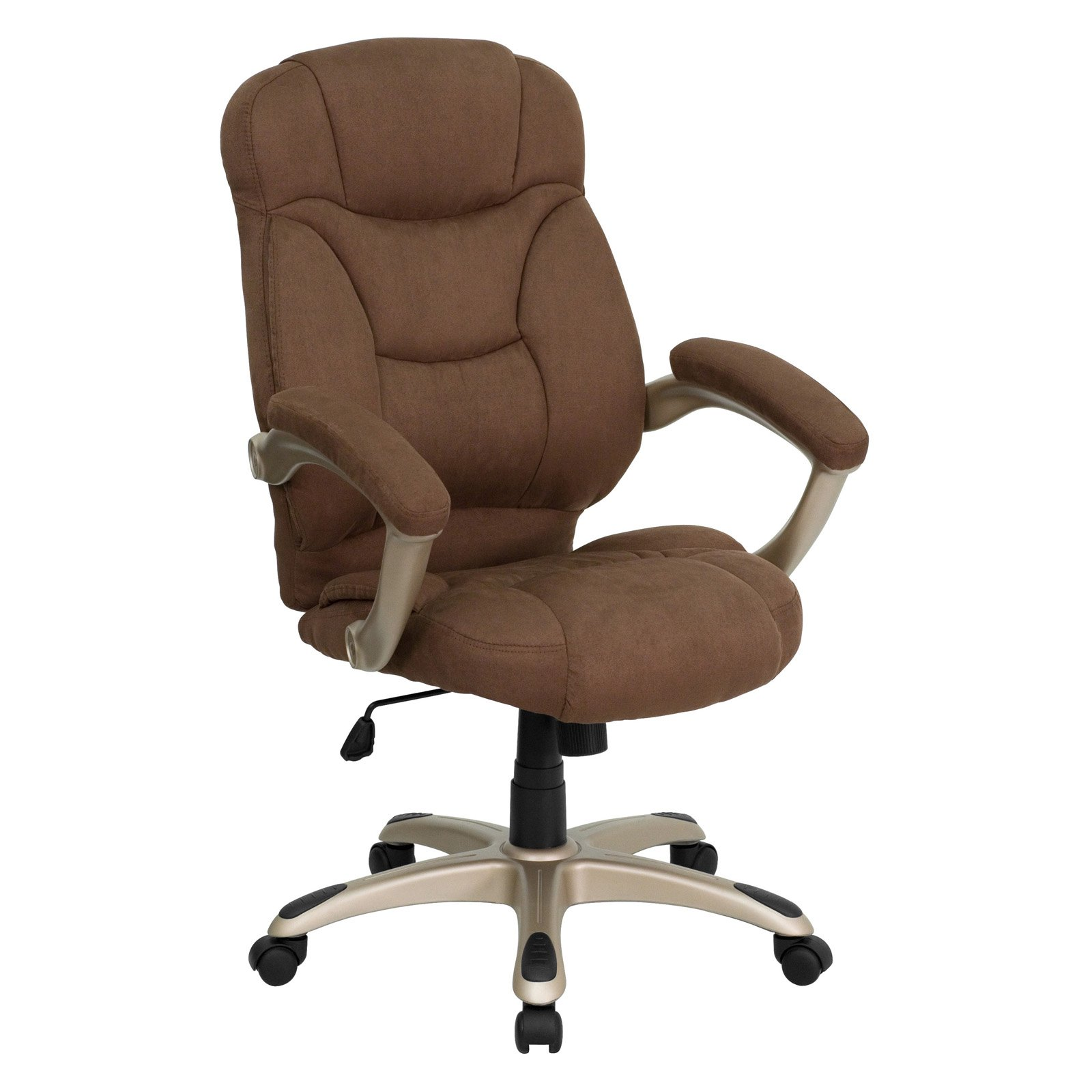 Microfiber Office Chair Microfiber High Back Office Chair Multiple Colors