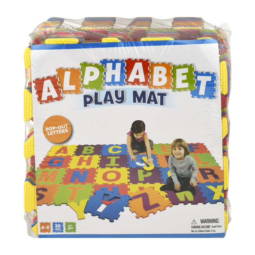 Best Brands Alphabet Play Mat 3+  26 Pc, 260 Piece(s