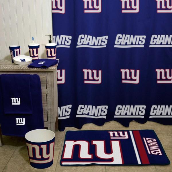 NFL New York Giants Shower Curtain