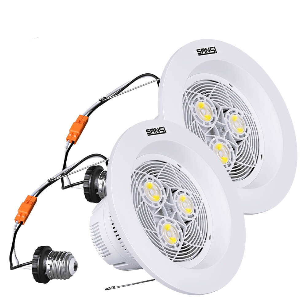 medium resolution of 6 inch led recessed lighting 15w 150w equiv 1800lm 4000k wiring diagram of nondimmable recessed led downlight