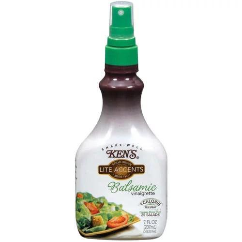 Kens Foods Kens Steak House Lite Accents Dressing 7 oz