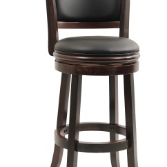 Chair Stool Black Jobri Kneeling Boraam Augusta 29 Swivel Bar Multiple Finishes Walmart Com
