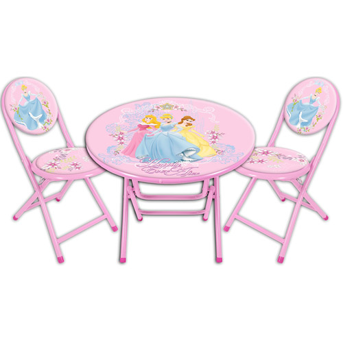 Disney Princess Round Table and Chair Set