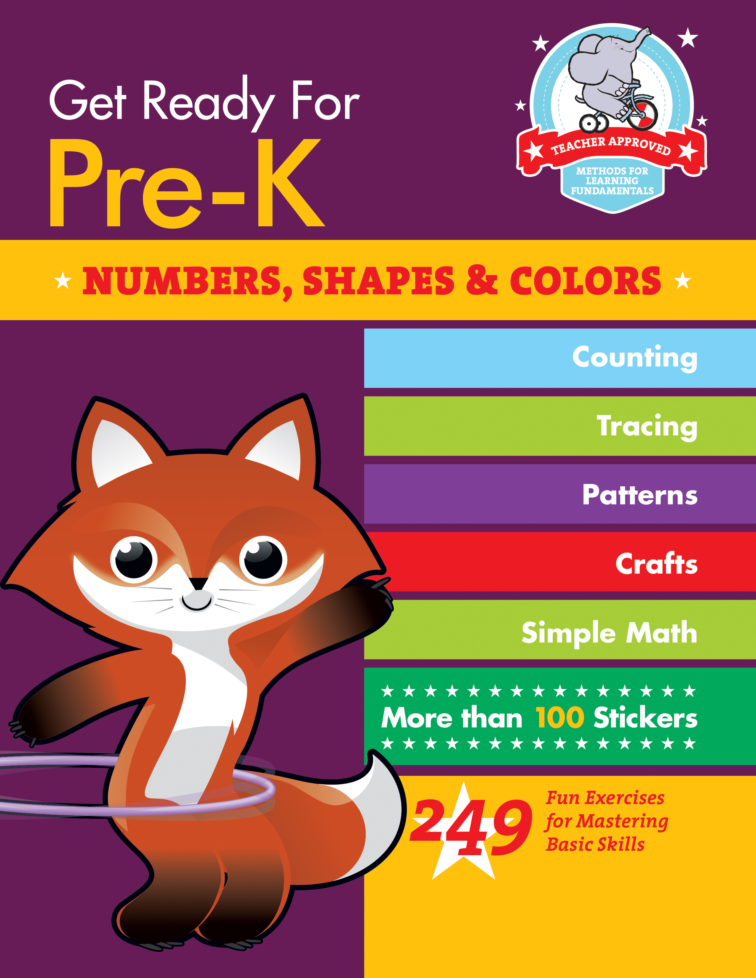 Get Ready For Pre K Numbers Shapes Amp Colors 249 Fun