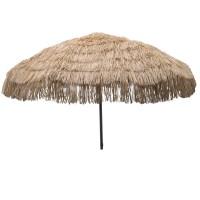 """DestinationGear Palapa Tiki Umbrella 7 6"""" Whiskey Brown ..."""