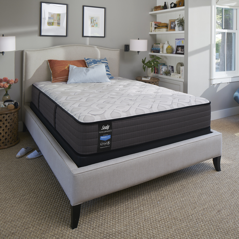 sealy response performance 12 5 inch plush tight top innerspring mattress california king