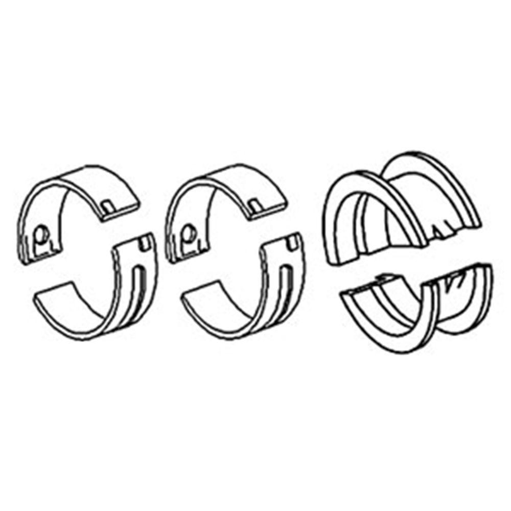 70209867 New Main Bearing Set For Allis Chalmers B C CA