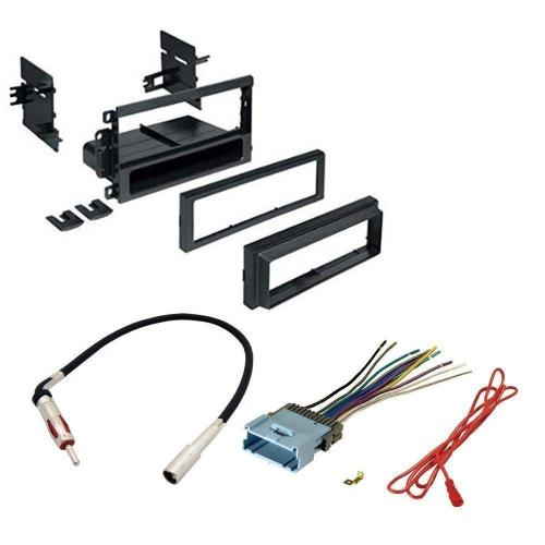small resolution of hummer 2003 2007 h2 car stereo cd player dash install mounting kit wire harness radio antenna walmart com