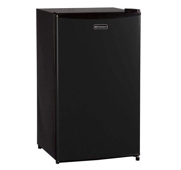 Emerson Compact Single Door Refrigerator Mini Fridge Black 3.3-cubic Foot 836321007431