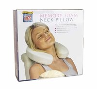 Dreamtime - Dreamtime Memory Foam Neck Pillow - Walmart.com
