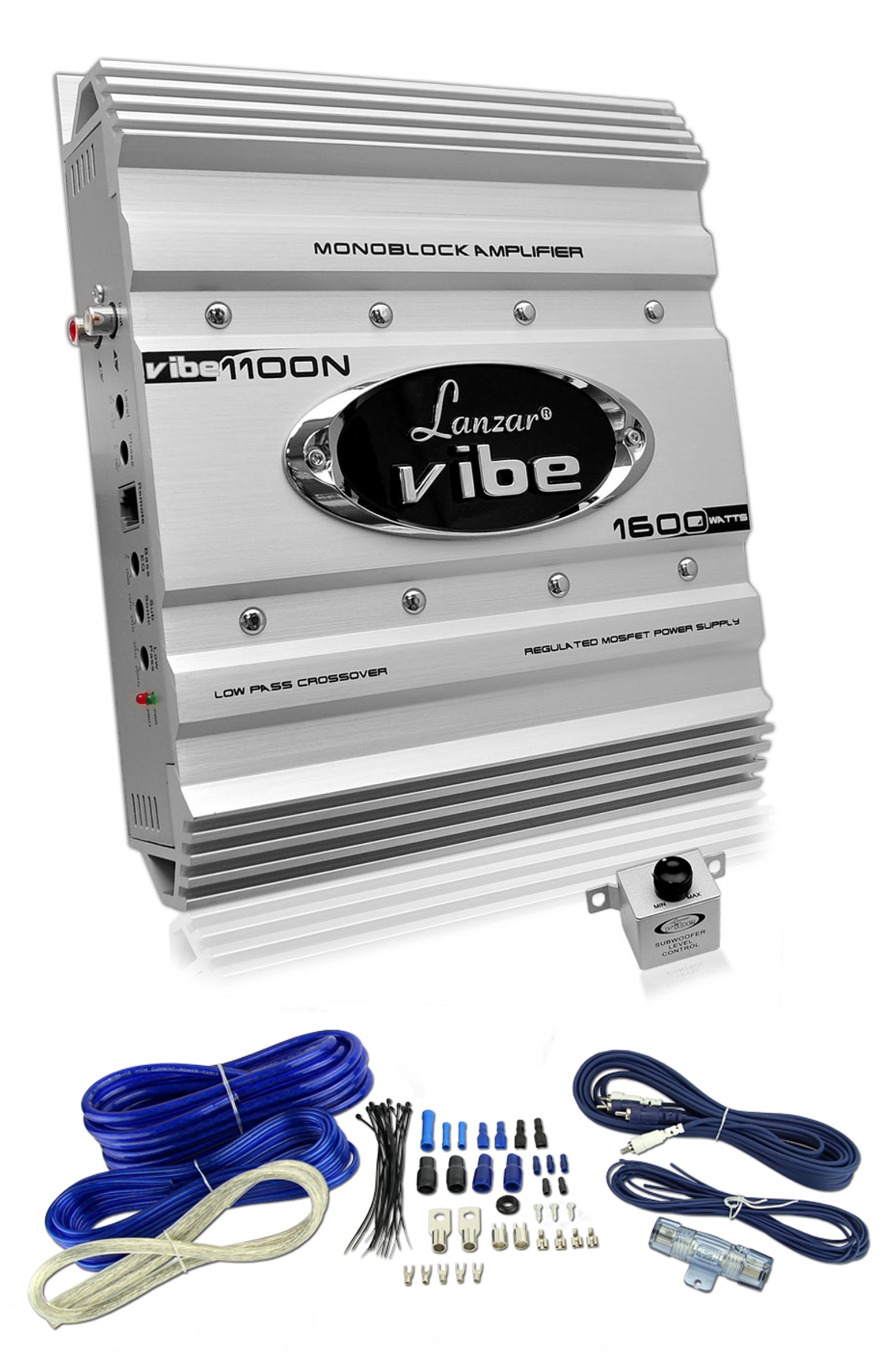 hight resolution of new lanzar vibe1100n 1600 watt mono 1 channel car audio amplifier lanzar amp 1400 1 ch lanzar amp wiring