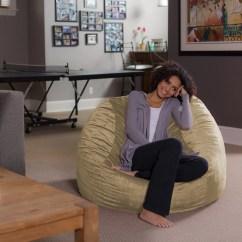 Memory Foam Bean Bag Chair Reviews Forza Horizon 2 Gaming Sofa Sack 4 Ft Multiple Colors