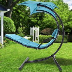 Hammock Chair With Canopy Purple Living Room Zimtown Hanging Chaise Lounger Arc Stand Air Porch Swing Garden Patio Walmart Com