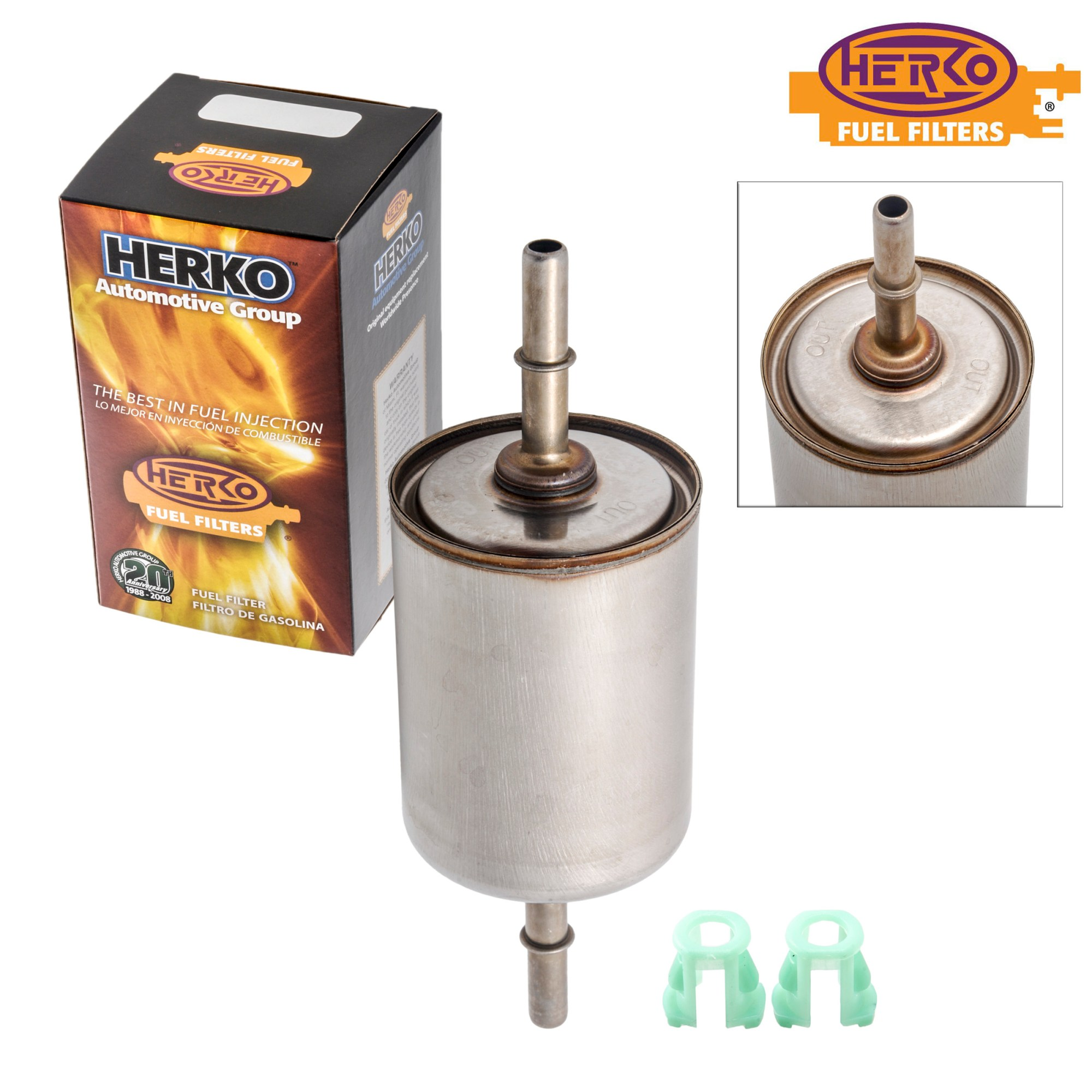 hight resolution of herko fuel filter fgm01 for daewoo saab jaguar buick oldsmobile cadillac 90 07 walmart com