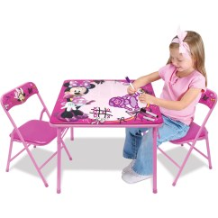 Minnie Table And Chairs Custom Throne Chair Disney Mouse Erasable Activity Set With Markers Walmart Com