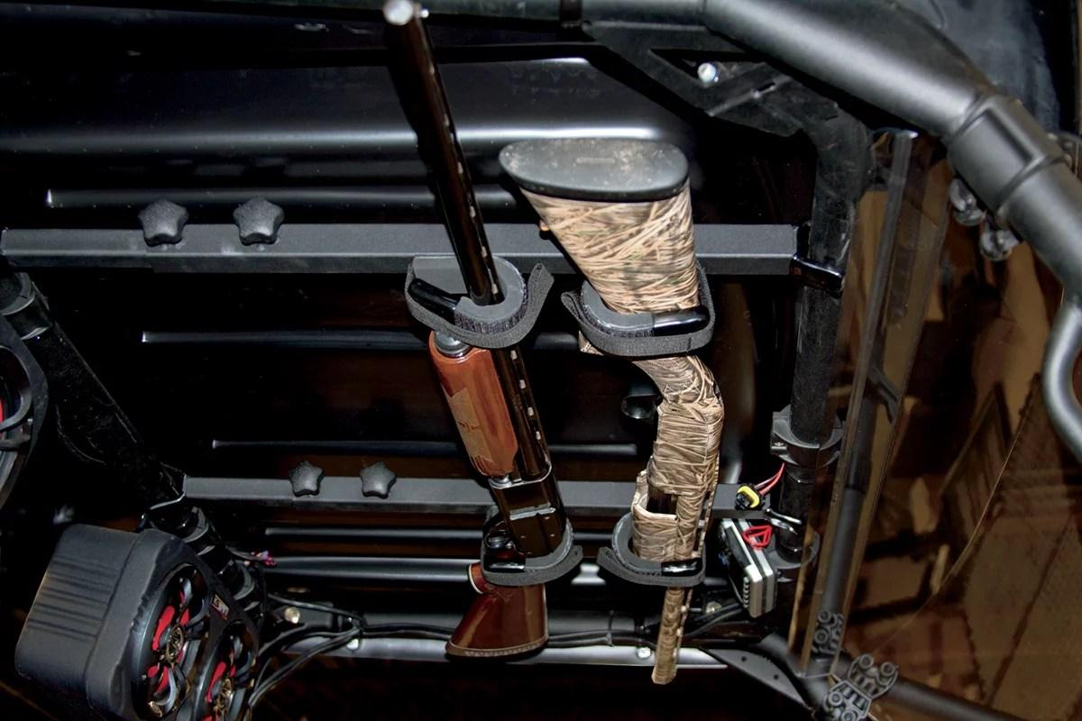 kolpin utv overhead gun rack 20078