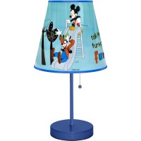 Disney Mickey Mouse Table Lamp, Blue - Walmart.com