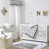Black and White Cloud Geometric Celestial Print 4 Piece ...