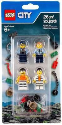 LEGO LEGO City Accessory Set Police 2016 Mini Figure Set ...