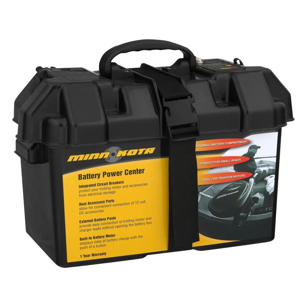 medium resolution of minn kota trolling motor battery power center 1820175 doesn t include battery walmart com